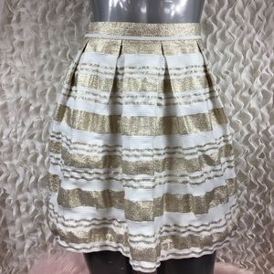Dresses & Skirts - 🎀SALE🎀 LOVE REIGN | Metallic Gold Skirt